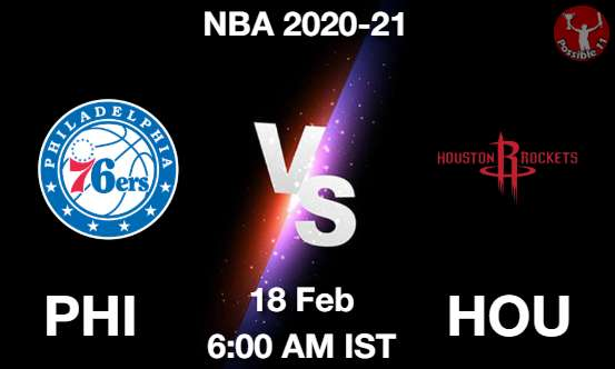 PHI vs HOU Dream11 Prediction