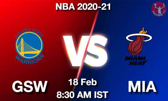 GSW vs MIA Dream11 Prediction
