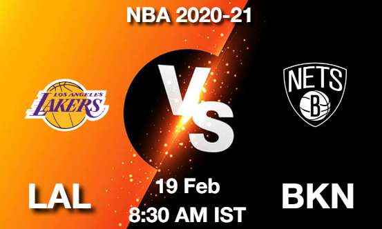 LAL vs BKN Dream11 Prediction