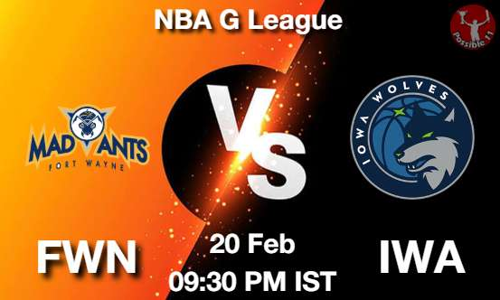 FWN vs IWA Dream11 Prediction