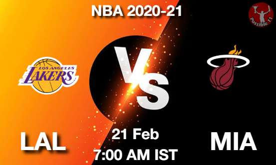 LAL vs MIA Dream11 Prediction