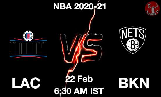 LAC vs BKN Dream11 Prediction