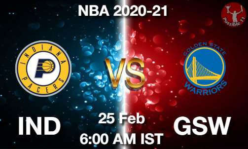 IND vs GSW Dream11 Prediction
