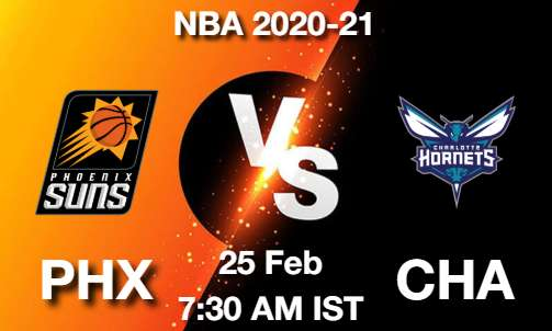 PHX vs CHA Dream11 Prediction