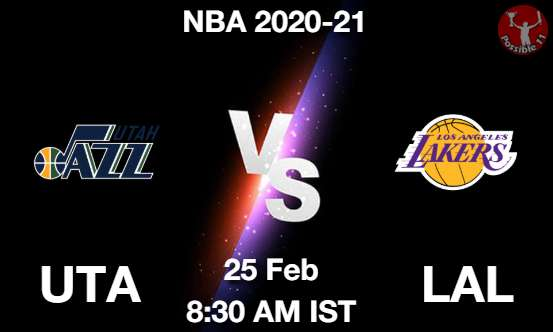 UTA vs LAL Dream11 Prediction