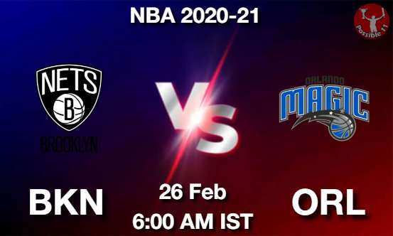 BKN vs ORL Dream11 Prediction