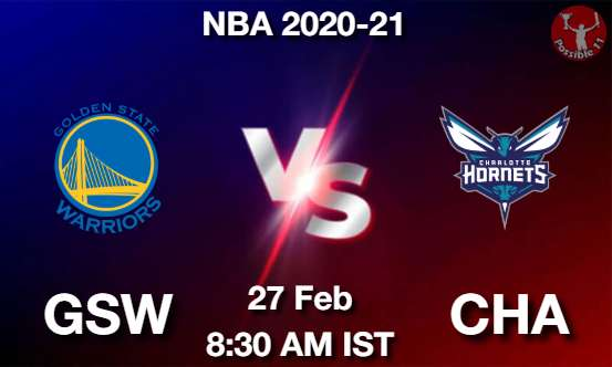 GSW vs CHA Dream11 Prediction