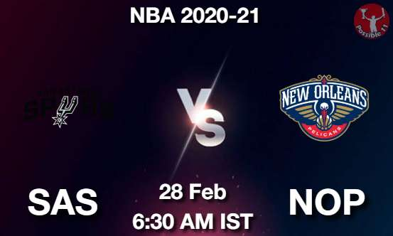 SAS vs NOP Dream11 Prediction