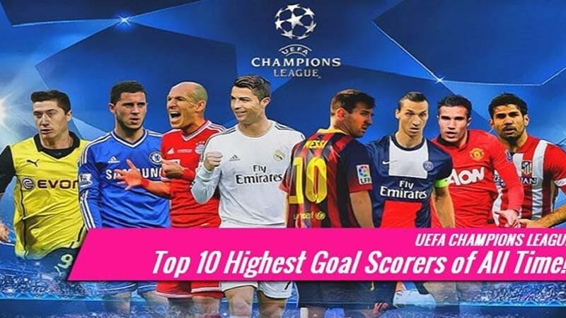 BACK OF THE NET Top ten highest goalscorers of all time: Cristiano Ronaldo surpasses Pele's official record