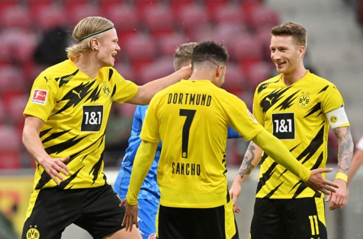 Bundesliga: Borussia Dortmund Secure Champions League Spot With sixth streak win