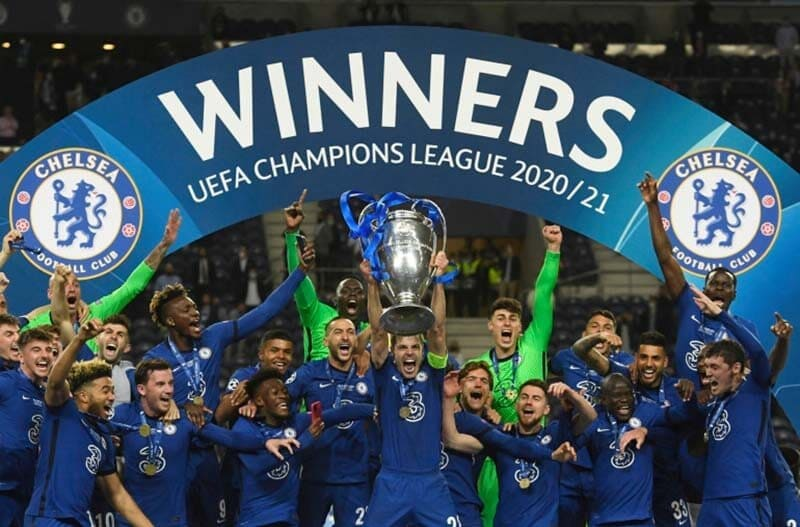 Chelsea beat Man City to win Champions League