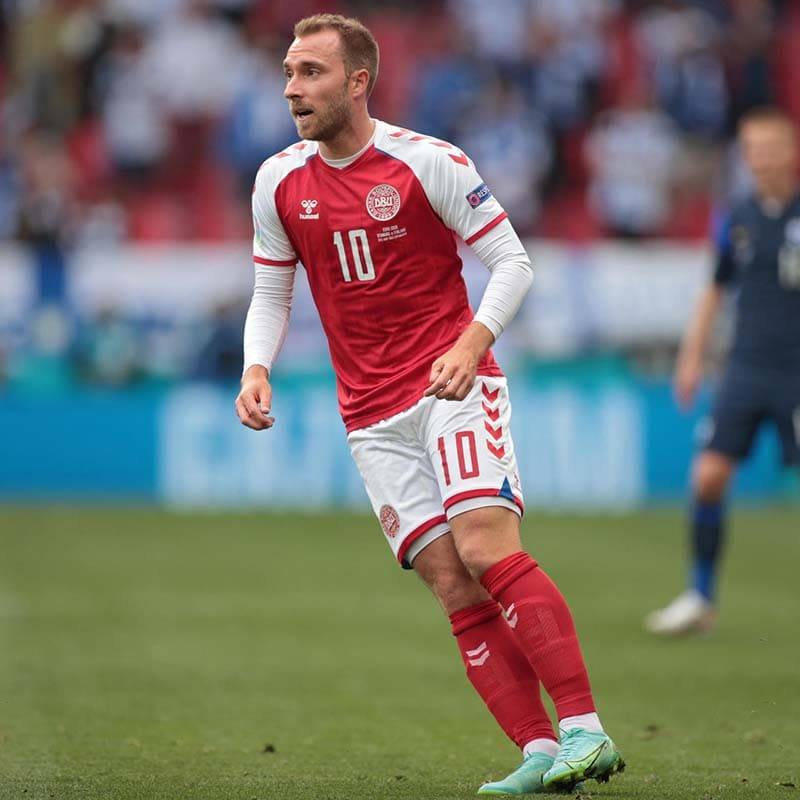Christian Eriksen Joking And In Good Spirits Says His Agent
