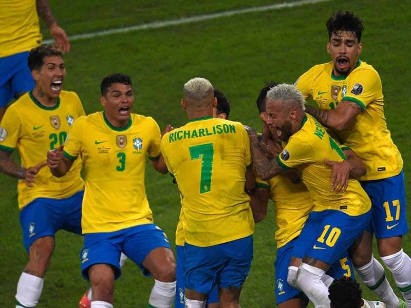 Copa America -Casemiros Late Strike Gives Brazil 2-1 Win Over Colombia