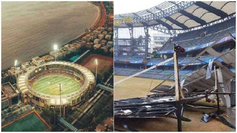 Cyclone Tauktae: Causes high damage at Wankhede Stadium