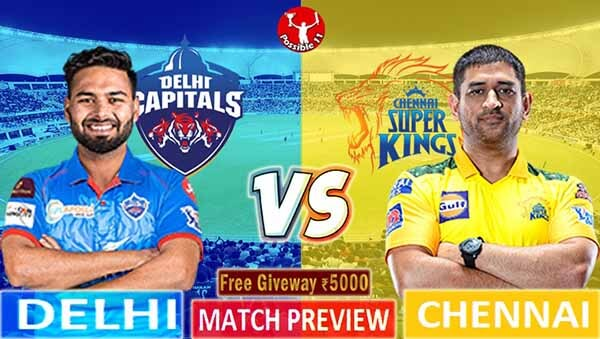 DC vs CSK Match Preview, DC vs CSK Match Prediction, IPL 2021