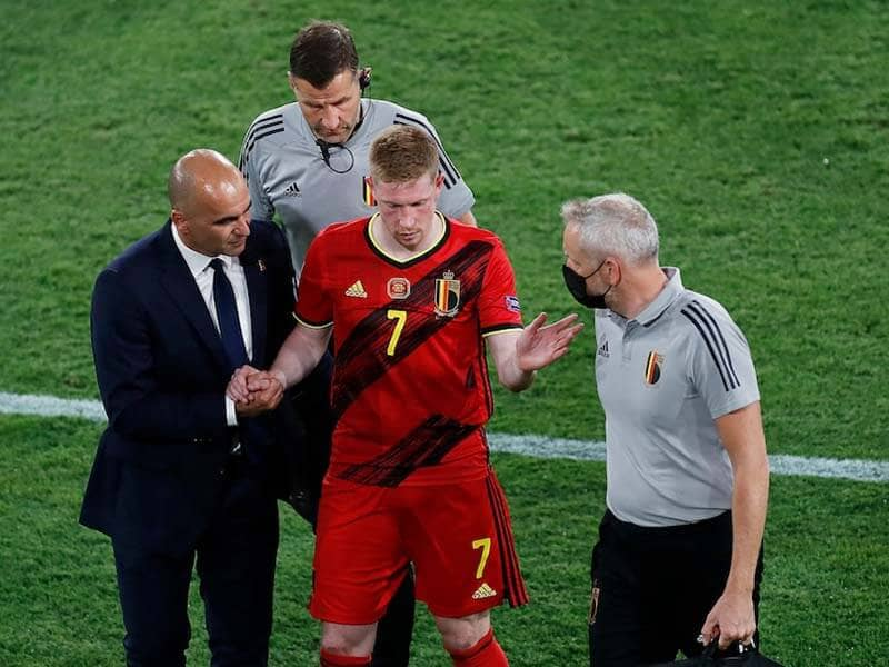 EURO 2020: Kevin De Bruyne Eden Hazard Absent From Belgium Training Session Ahead Of Italy Clash