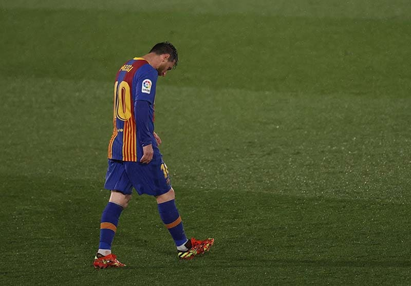 Impossible for Barcelona to keep Lionel Messi if no player leaves: La Liga chief Javier Tebas