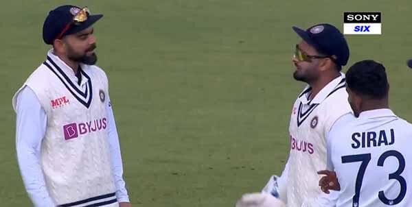 Ind vs Eng: Rishabh Pant caught captain Virat Kohli