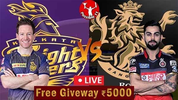 IPL 2021: KKR vs RCB Match Preview, Dream11 Match Prediction