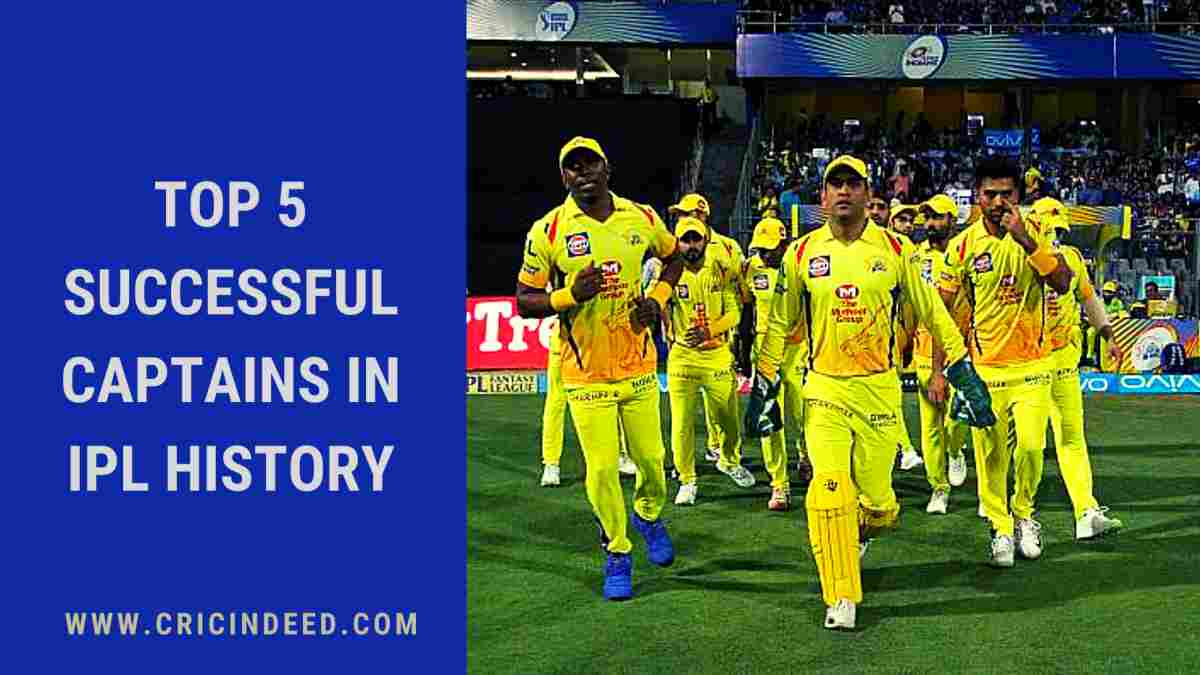 IPL 2021: Most successful captains in IPL history