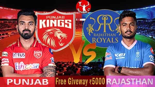 IPL 2021: PBKS vs RR Match Preview, Dream11 Match Prediction