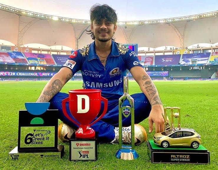 Ishan Kishan did such unique feat with batting in his debut ODI match