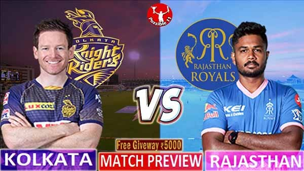 KKR vs RR Match Preview, KKR vs RR Match Prediction, IPL 2021