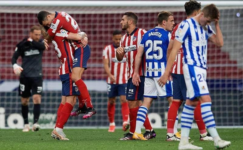 La Liga: Atletico Madrid Closer To Title After Win Over Real Sociedad