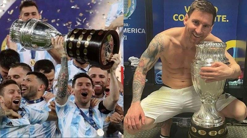 Lionel Messi Picture With Copa America Trophy Becomes Most-Liked Instagram Post By An Athlete