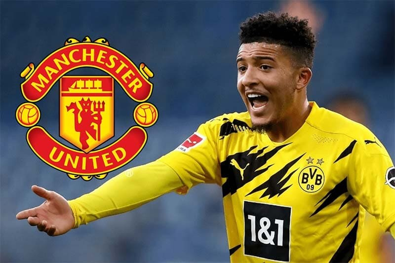 Manchester United Sign Jadon Sancho On 5-Year Deal From Borussia Dortm