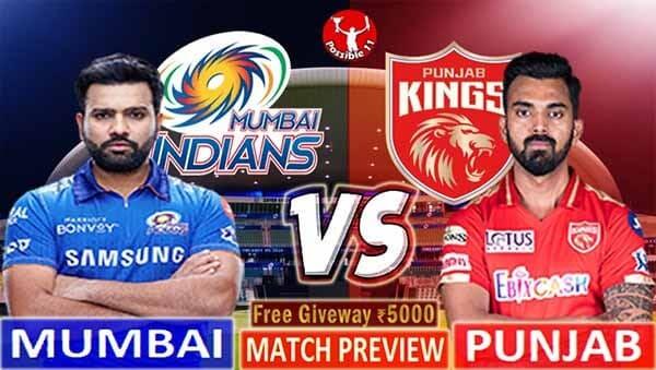 MI vs PBKS Match Preview, MI vs PBKS Match Prediction, IPL 2021