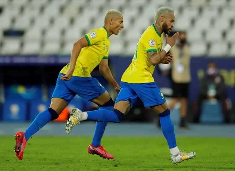 Neymar Inspires Brazil Into Quarter-Finals Of Copa America