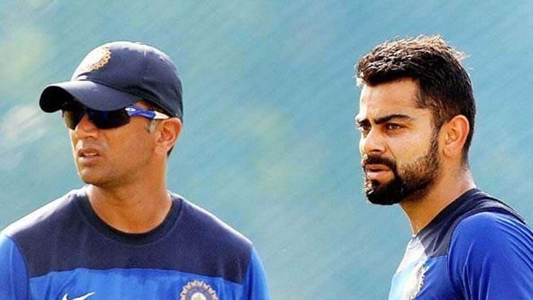 No Detailed talk: Virat Kohli On Rahul Dravid Next India Coach