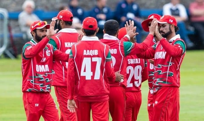 Oman clinched The First Match of Men