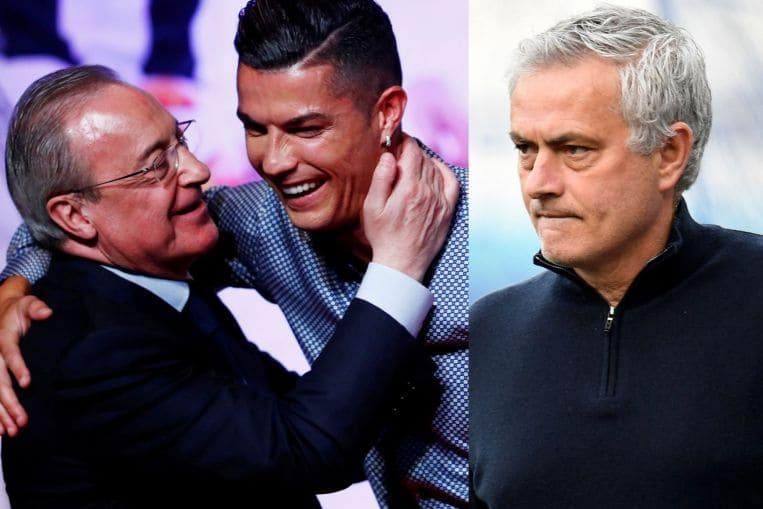 Plot Thickens As Florentino Perez Recordings Target Cristiano Ronaldo Jose Mourinho