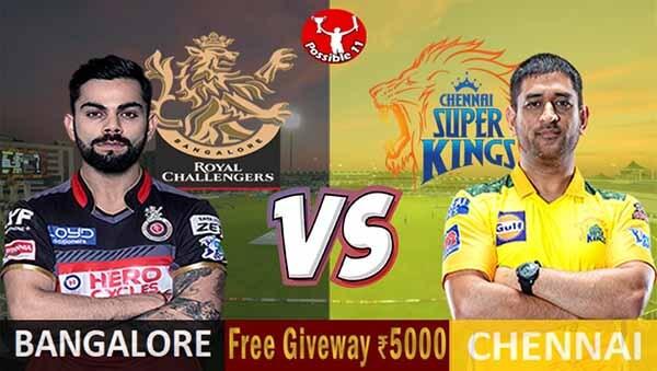 RCB vs CSK Match Preview, RCB vs CSK Match Prediction, IPL 2021