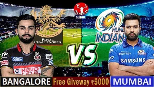 RCB vs MI Match Preview, RCB vs MI Dream11 Match Prediction, IPL 2021