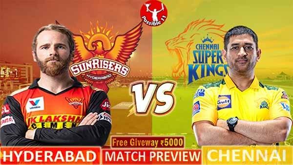 SRH vs CSK Match Preview, SRH vs CSK Match Prediction, IPL 2021