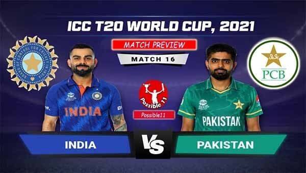 T20 World Cup: India vs Pakistan Match Preview, Today Match Prediction
