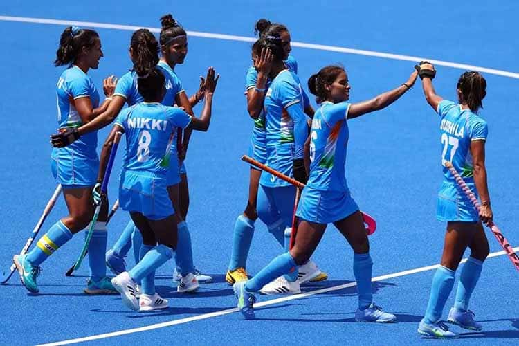 Indian womens hockey team loses to Great Britain in bronze medal