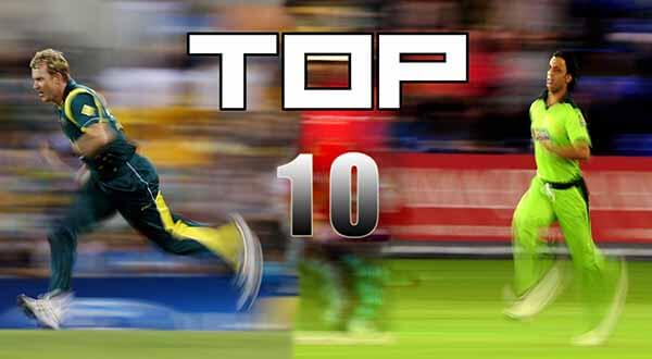 Top 10 Fastest Bowlers in Cricket History | Fastest Bowler in the World