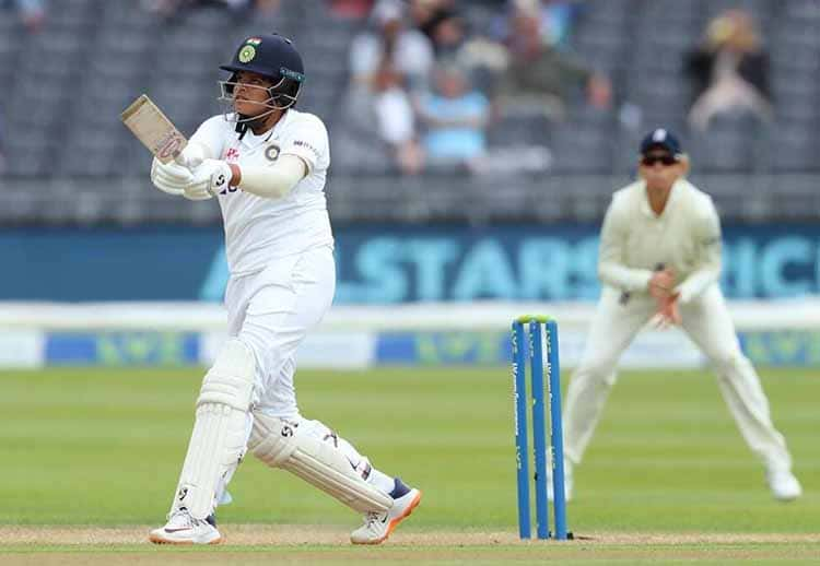 Youngest Woman To Hit Two Half-Centuries In Debut Test